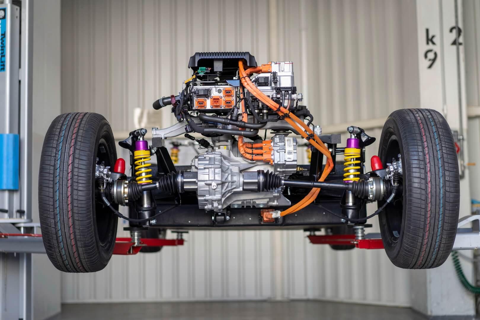 Электрическая трансмиссия Volkswagen Beetle