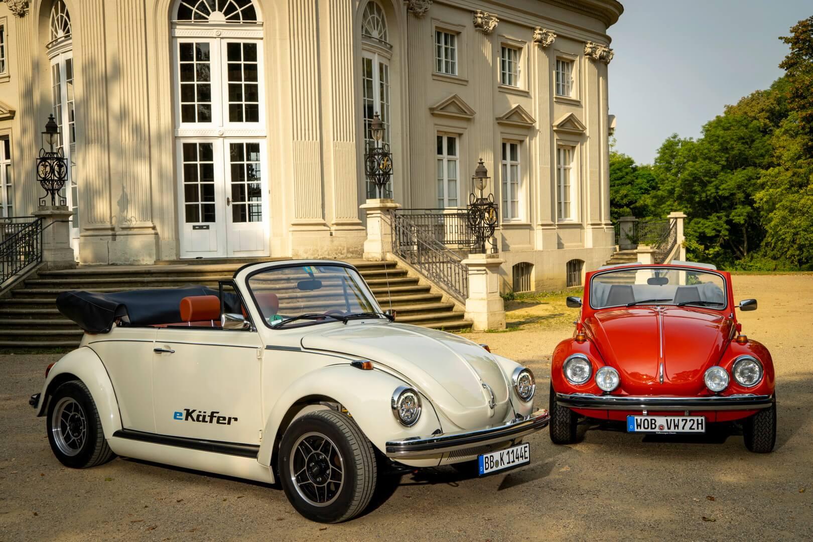 Электрический и бензиновый Volkswagen Beetle