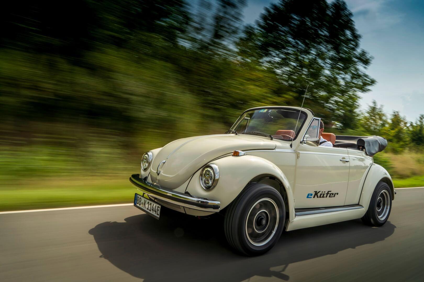 Классический VW Beetle получил электрическую трансмиссию