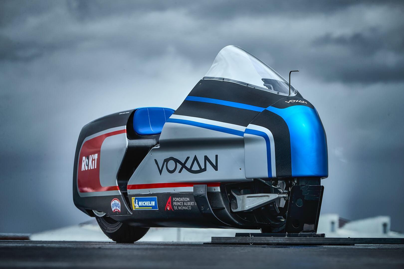 Voxan Wattman: электробайк мощностью 270 кВт сохлаждением сухим льдом
