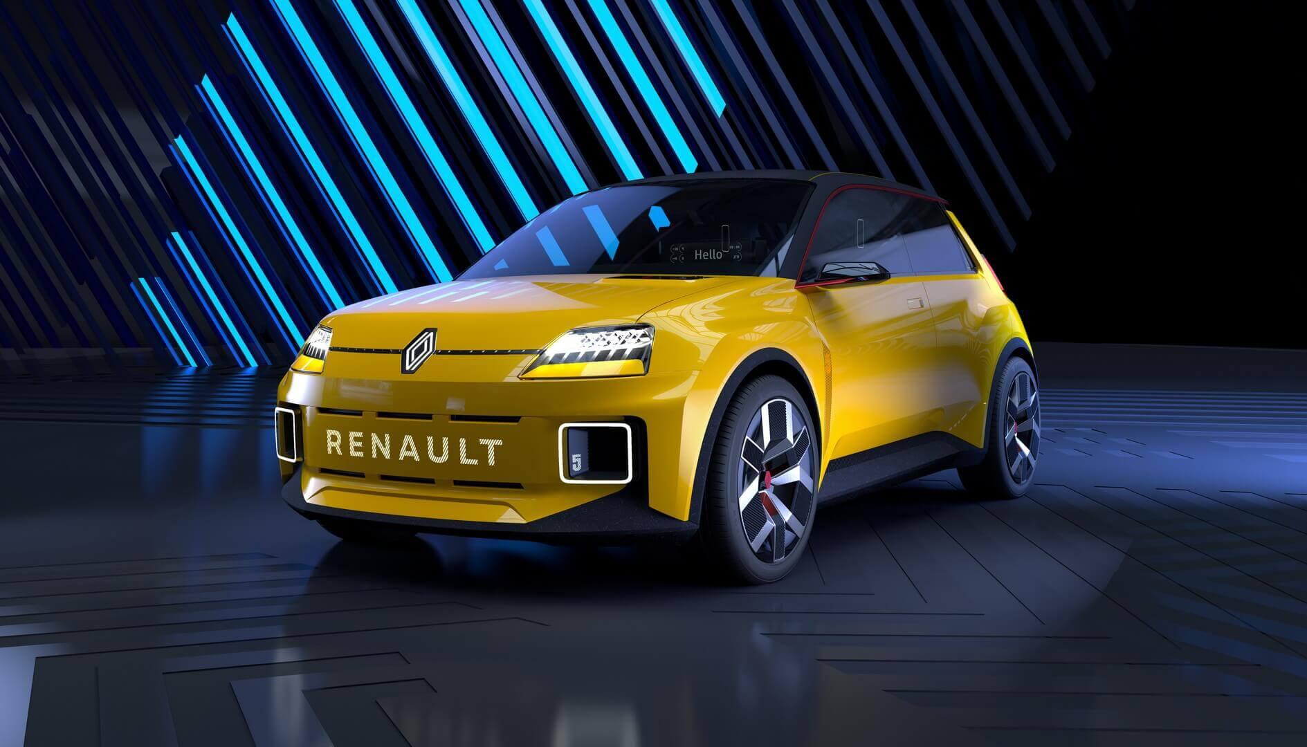 Renault возродила культовый R5 в виде футуристического электромобиля